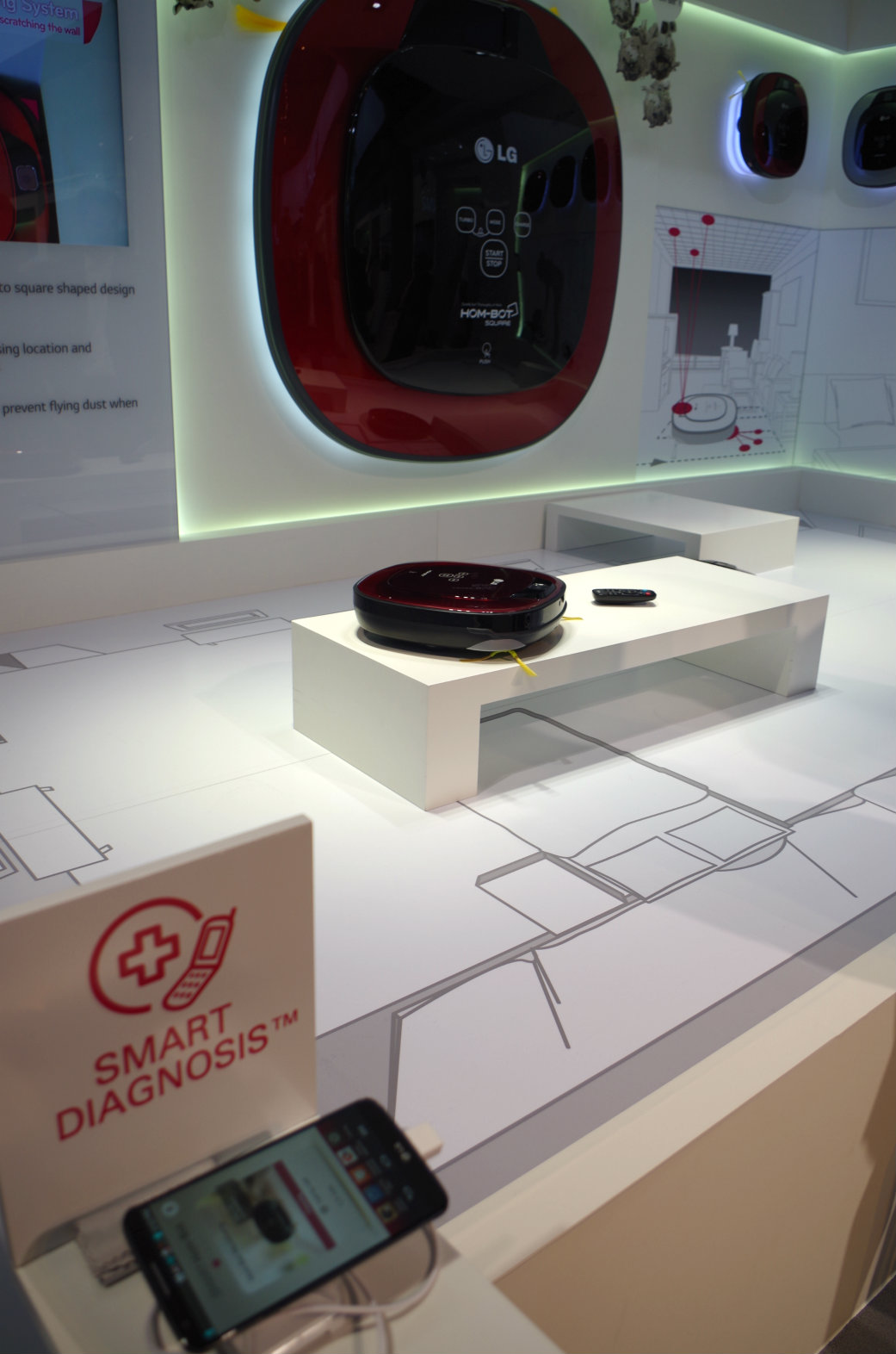 robot aspirateur LG Smart Square