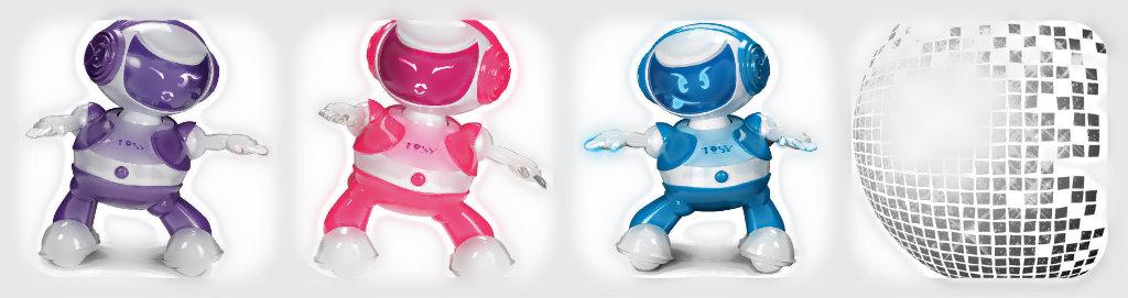 Disco robot bannière blog
