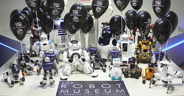 Musée Robots Madrid
