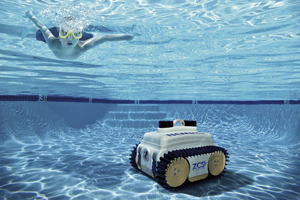 Robot piscine batterie for Aspirateur de piscine a batterie