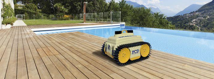 Robot Piscine NEMH2O de Ambrogio Zucchetti