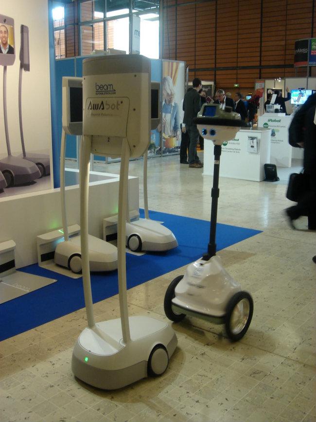 robots télé-présence Innorobo