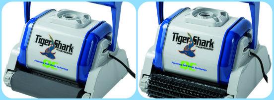 TigerShark QC robot piscine