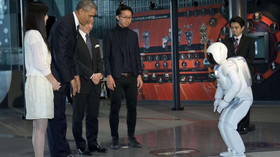 Obama-robot