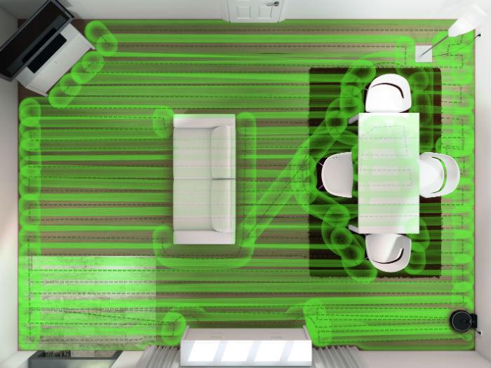 Miele déplacements robots aspirateur