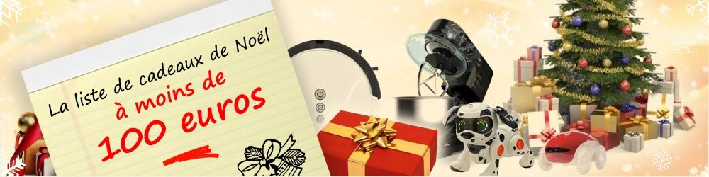 Cadeaux de Noël à moins de 100 euros