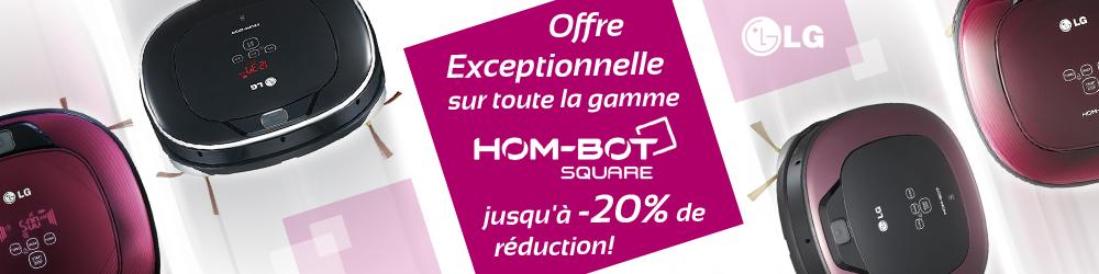 Offre spéciale gamme hombot LG
