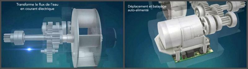 Robot hydraulique auto-alimenté Dolphin RS2
