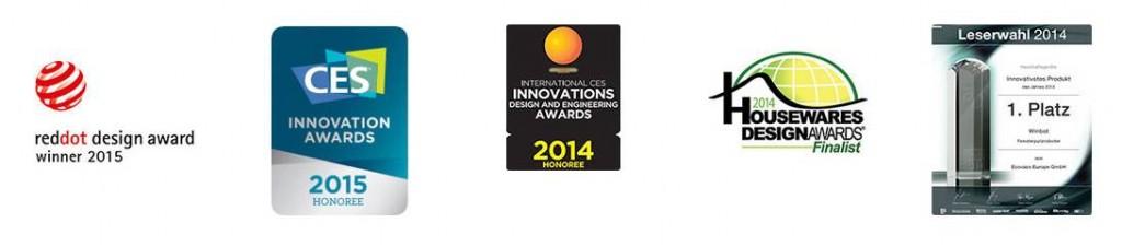 Awards - Winbot 930 laveur de vitre