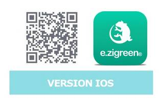 Application ezicom e.zigreen