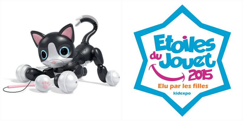 étoile du jouet 2015 - zoomer kitty