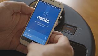 Application Neato Robotics - BotVac connecté