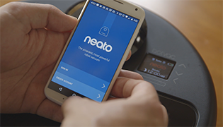 Application Neato Robotics - BotVac connecté