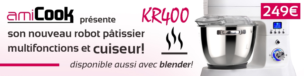 robot cuisine cuisine AMICOOK KR400