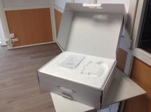 Intérieur boite Amibot Flex