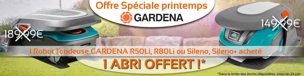 Banniere gardena test Sileno + L50LI