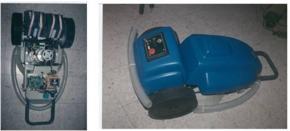 prototype robomow - robot tondeuse