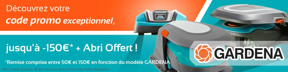 gardena code promo artcile