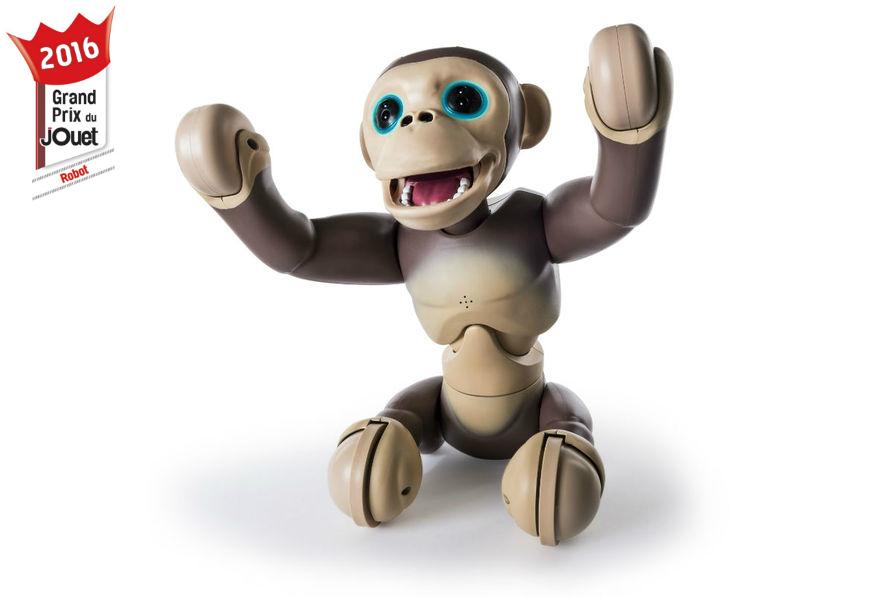 Chimp zoomer robot jouet interactif