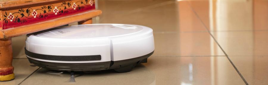Le format MINI de l'Amibot Swift lui permet de passer partout.