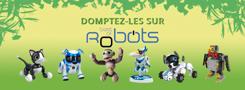 Robots-jouets-animaux