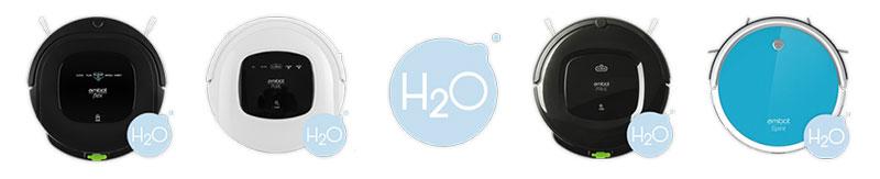 technologie h2o robot aspirateur amibot