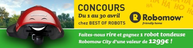 concours robot tondeuse Robomow