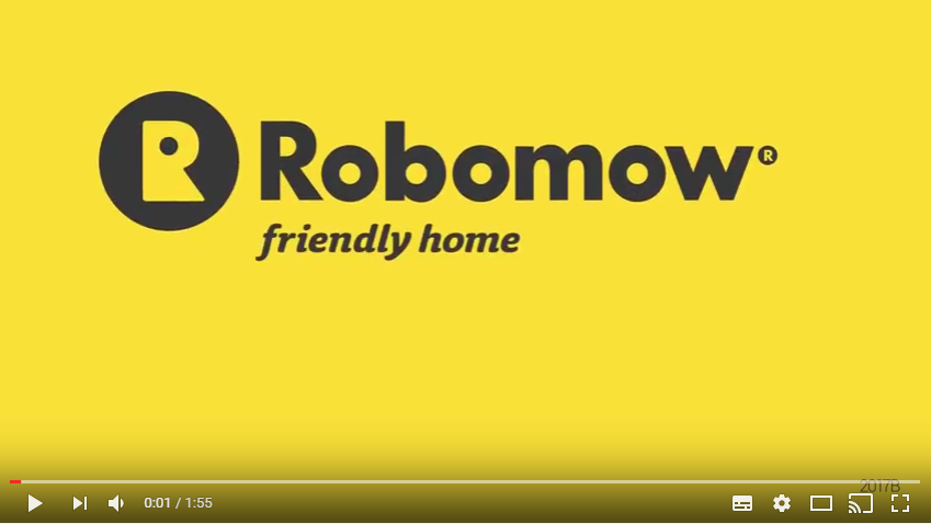video robomow robot tondeuse RX