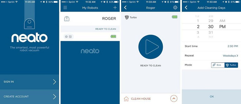 neato-botvac-connected-application