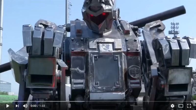 robot géant guerrier