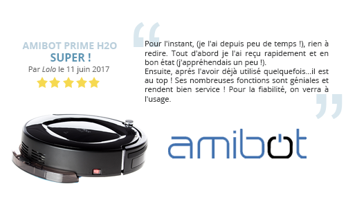 avis client prime h2o amibot