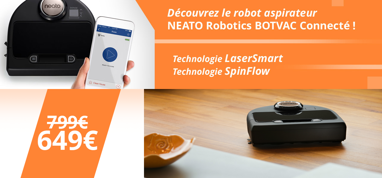le botvac connect de neato robotics est de retour best of robots bestofrobots. Black Bedroom Furniture Sets. Home Design Ideas