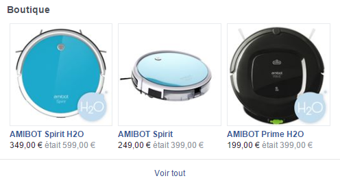 boutique facebook best of robots amibot