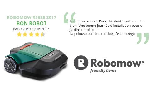 avis client robomow rs625 2017