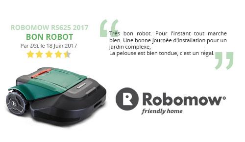 avis robot tondeuse robomow