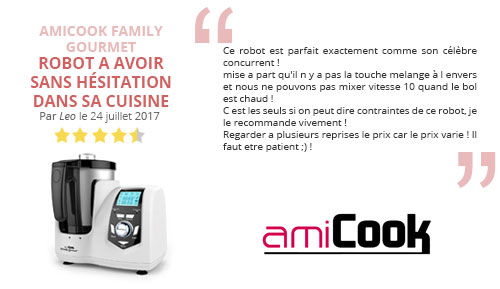 avis client amicook family gourmet robot cuisine
