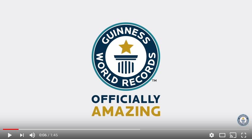 vidéo record du monde robots dansants