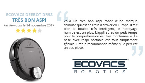 avis client ecovacs deebot dr98