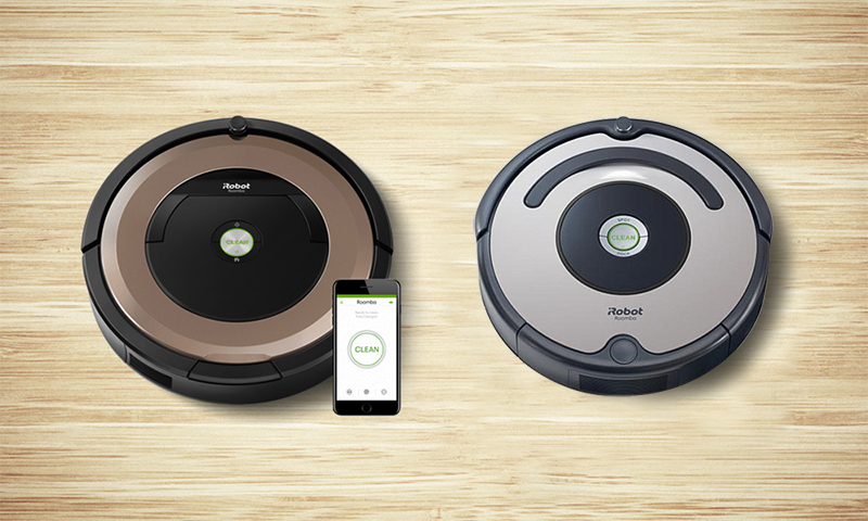 deux nouveaux robots aspirateurs roomba sont disponibles sur best of robots best of robots. Black Bedroom Furniture Sets. Home Design Ideas