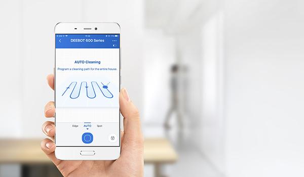 Robot-aspirateur-Ecovacs-DEEBOT-600-application