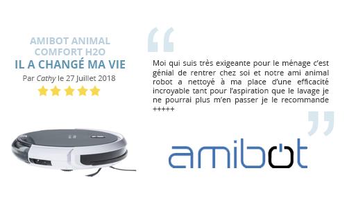 avs client robot aspirateur AMIBOT Animal Comfort H2O