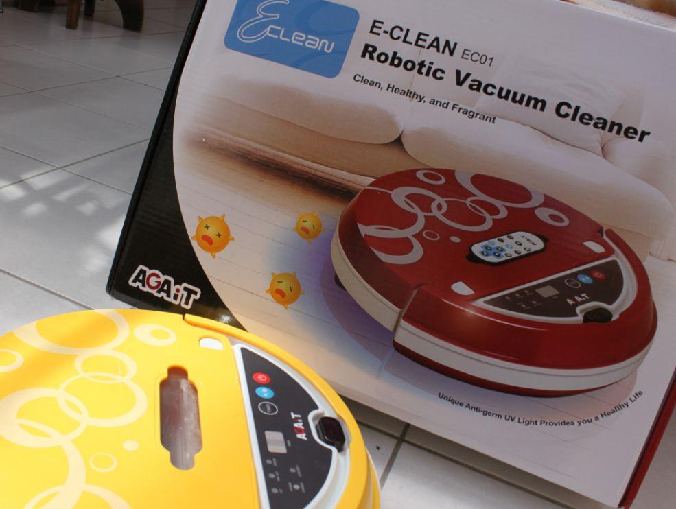 Aspirateur robot AGAiT ECLEAN EC01: : Cuisine & Maison