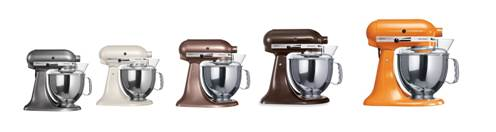 Kitchen aid coloris