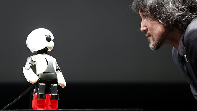 Kirobot dans l'espace