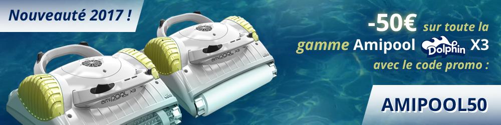 promotion maytronics amipool dolphin x3