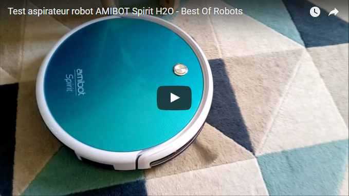 Maman cat teste l'AMIBOT Spirit H2O Bestofrobots