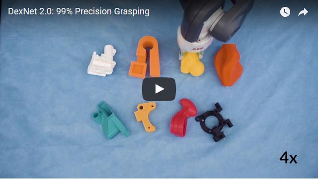 video robot attrape des objets