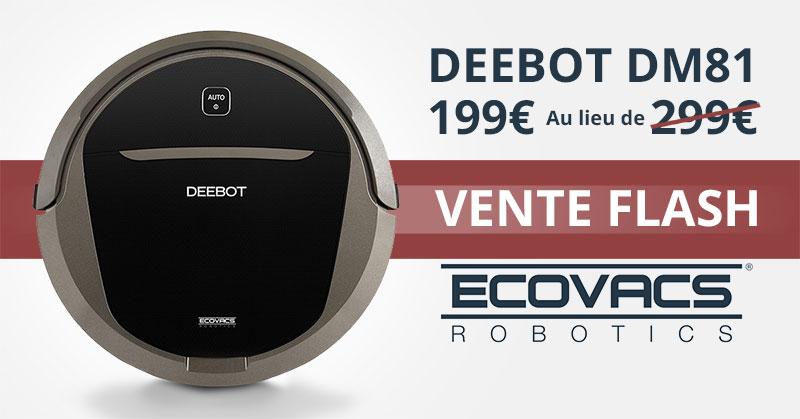 promotion deebot dm81 ecovacs