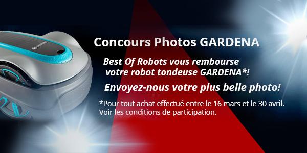 bannière concours photo gardena 2018 robot tondeuse