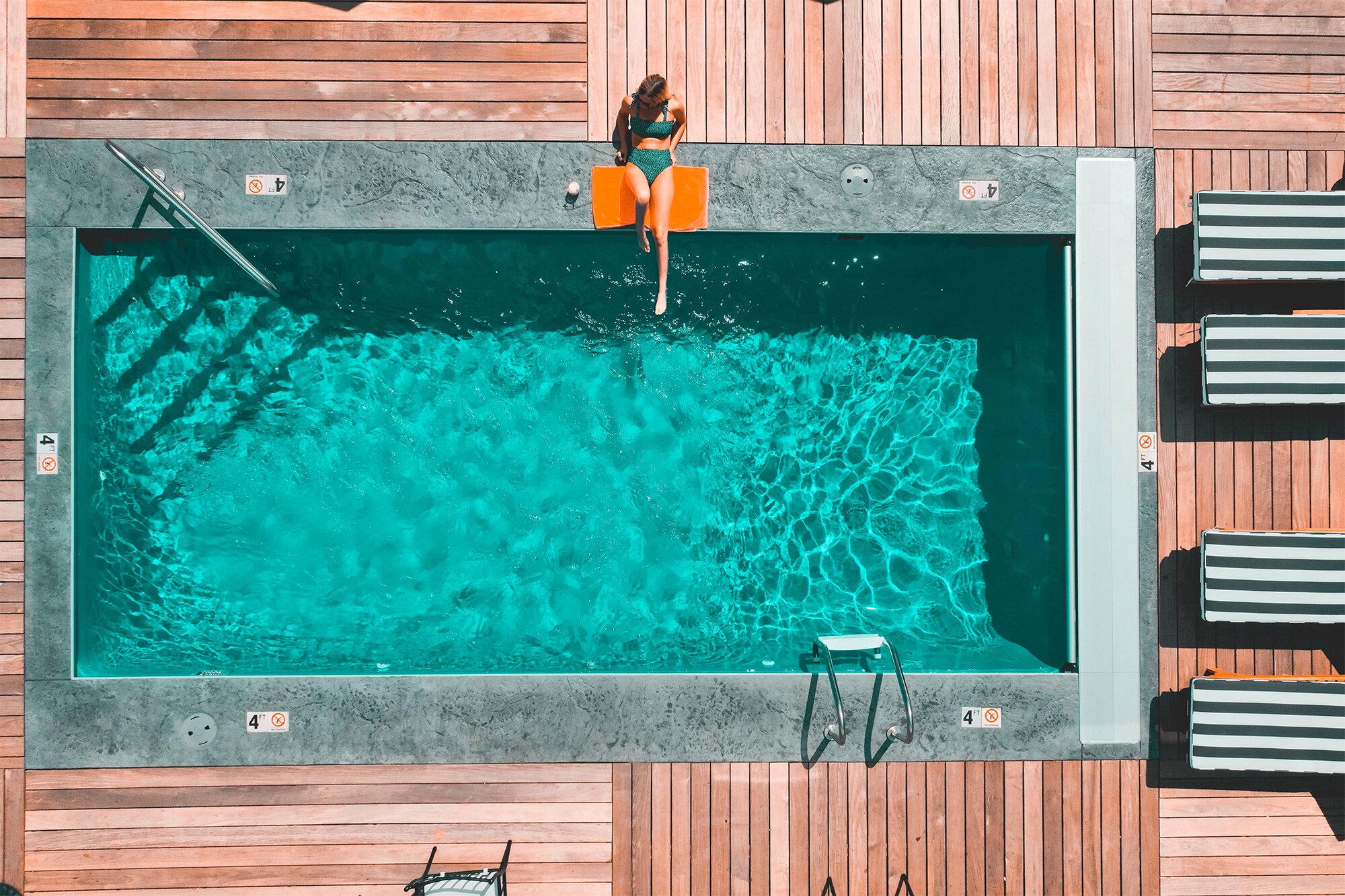 préparer hivernage piscine